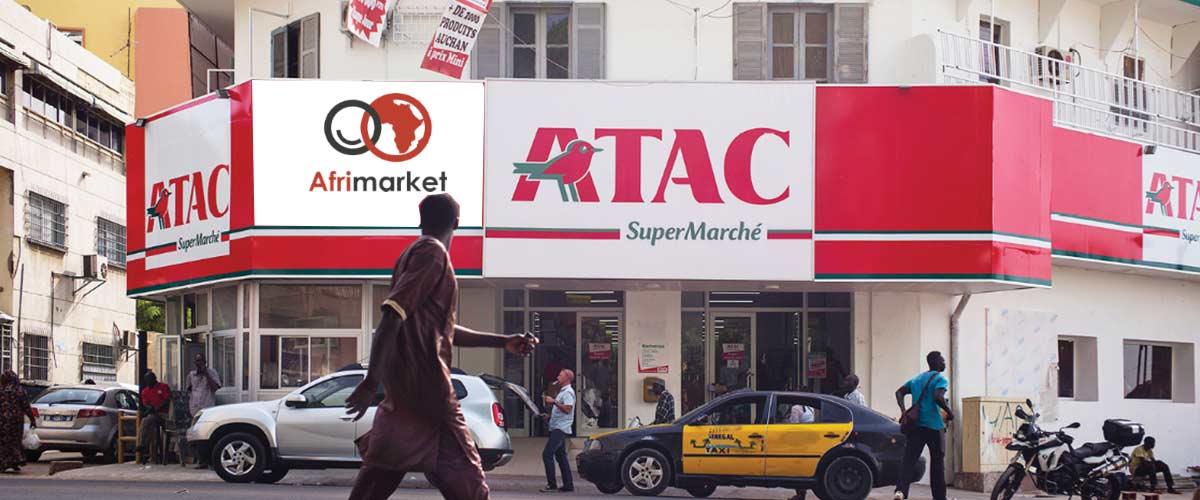 Sénégal, Afrimarket s'associe à Auchan et devient son distributeur exclusif sur Internet