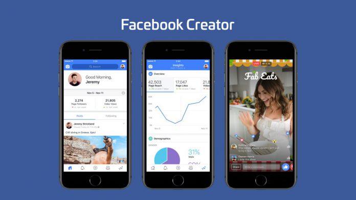 Facebook lance Creator, son éditeur de contenus vidéo