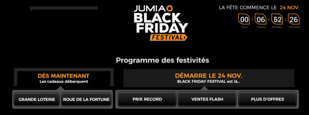 Black Friday jumia