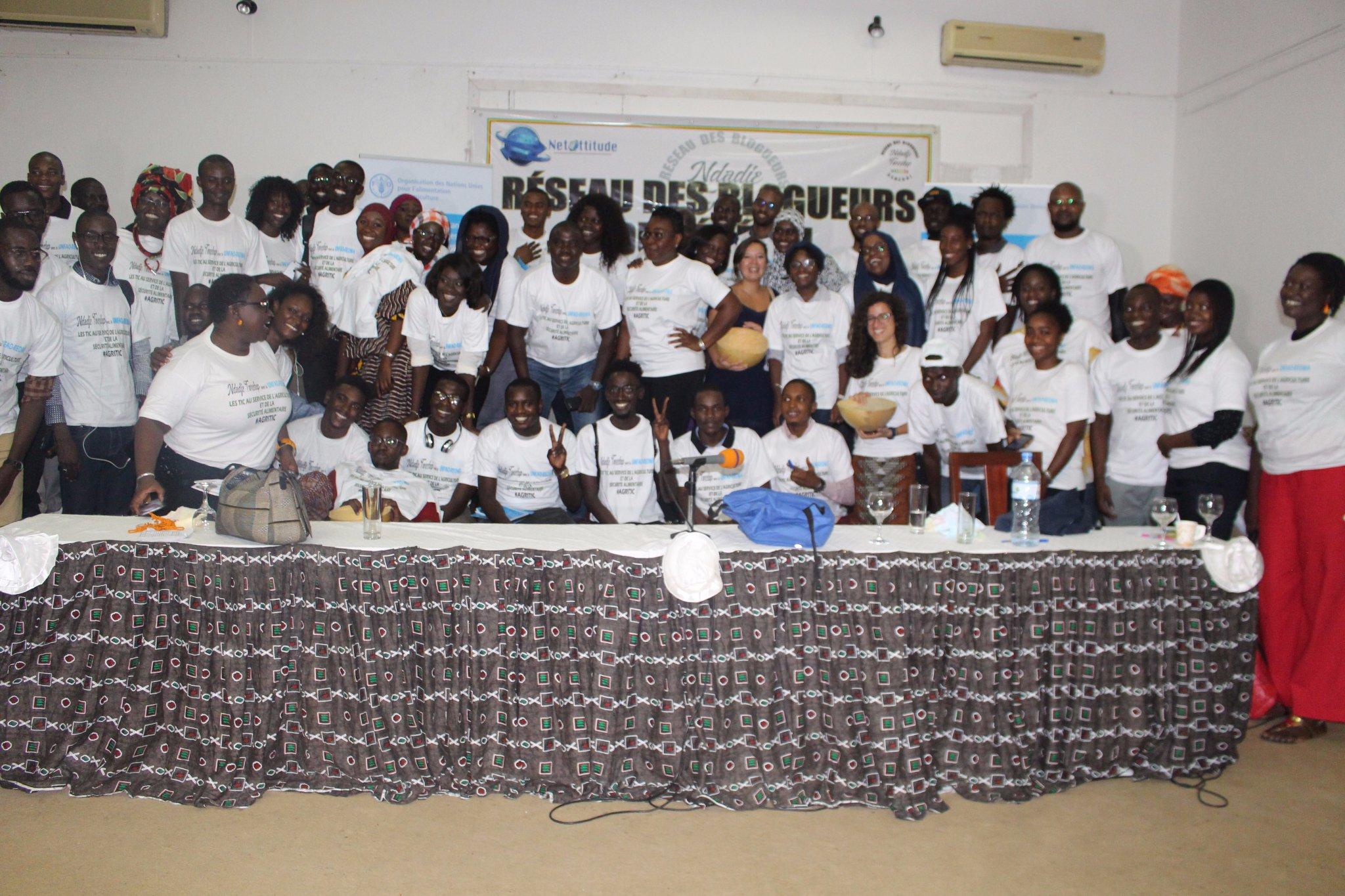 Le Réseau des blogueurs du Sénégal se connecte au développement de l'agriculture