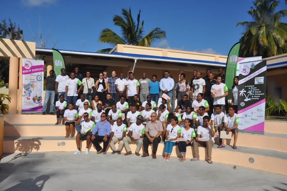 Clap de fin pour cette 5ème édition de la finale Internationale de la Webcup 2017 à Rodrigues
