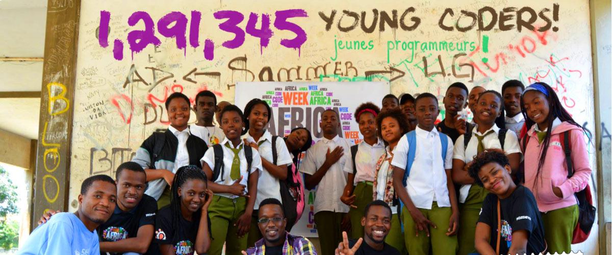 1,3 million de jeunes initiés en informatique grâce à Africa Code Week édition 2017