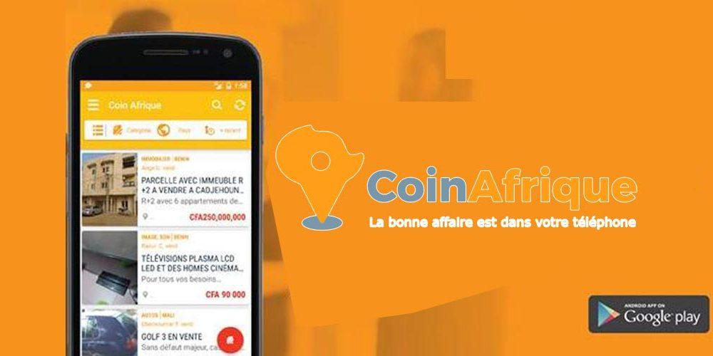 application CoinAfrique