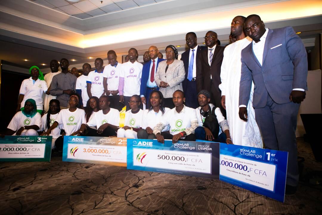 Le projet I-citoyen remporte la première édition du Concours eGovLAB Challenge Sénégal
