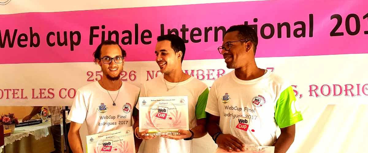 Entretien avec l'équipe de la Réunion, gagnante de la Webcup 2017