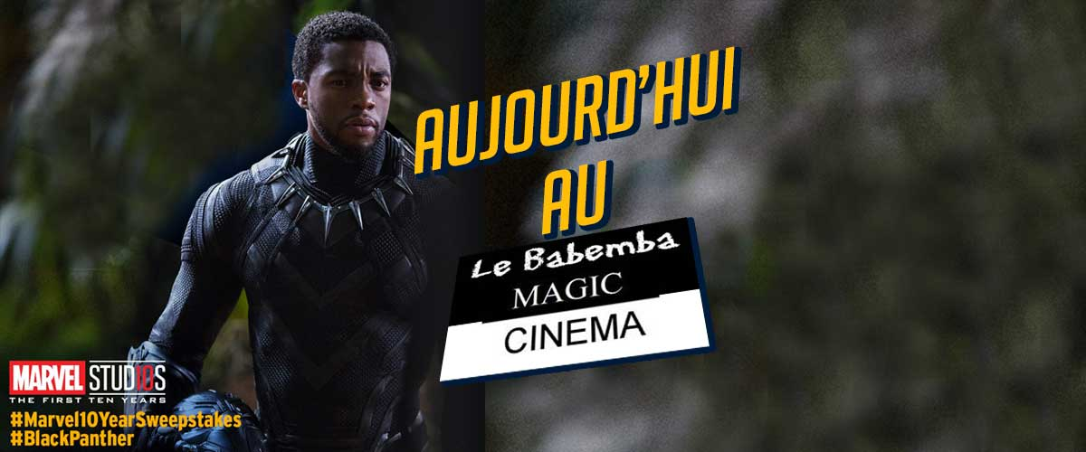 Black Panther au Magic Cinéma Babemba