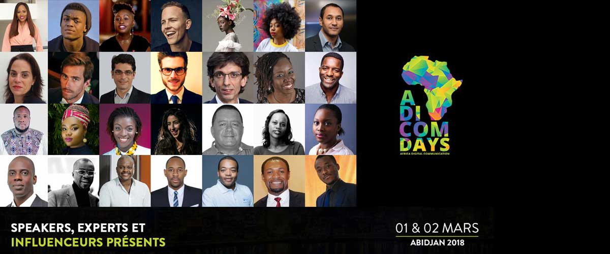 La créativité digitale récompensée aux ADICOMDAYS 2018 à Abidjan