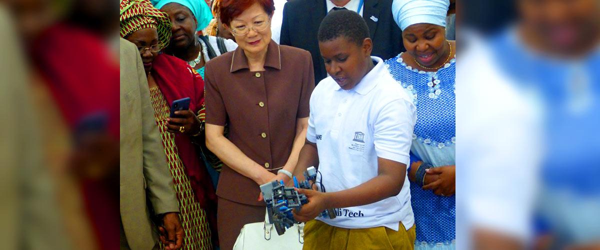 Ouverture officielle du 1er centre national de robotique au Kabala (Bamako)