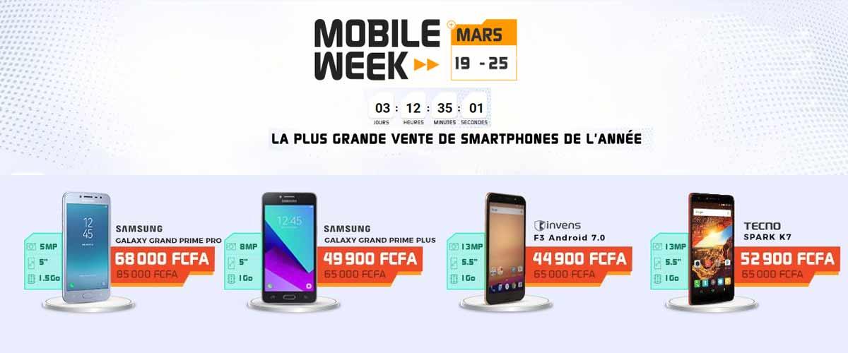Jumia Mobile Week, une semaine de folle promo sur les appareils mobiles.