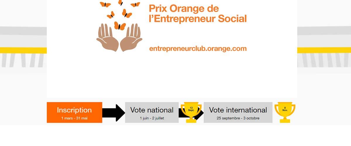 La 8ème édition du Prix Orange de l'Entrepreneur Social en Afrique et au Moyen-Orient est lancée