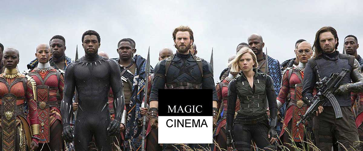 Magic Cinema Babemba : Avengers Infinity War, un programme titanesque