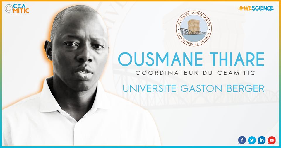 Entretien avec Pr Ousmane THIARE: «Je travaille activement dans les réseaux de capteurs sans fil…»