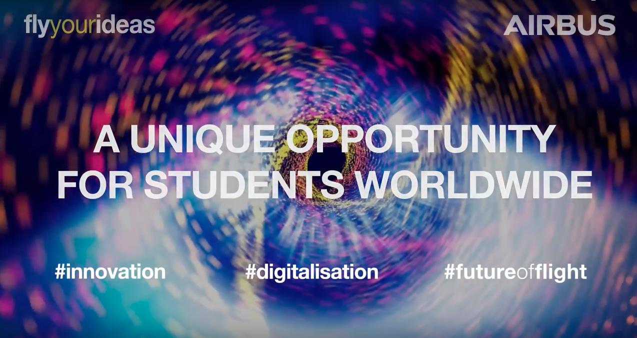 Fly Your Ideas, le concours mondial d'Airbus destiné aux étudiants