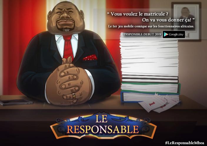 Le Responsable, nouveau jeu vidéo de Kiro'o Games sur la vie d'un fonctionnaire africain