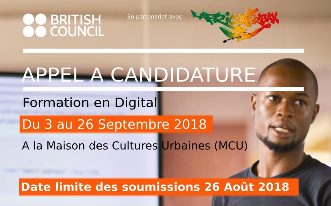 Le British Council  organise une session de formation en digital dédiée aux artistes et entrepreneurs