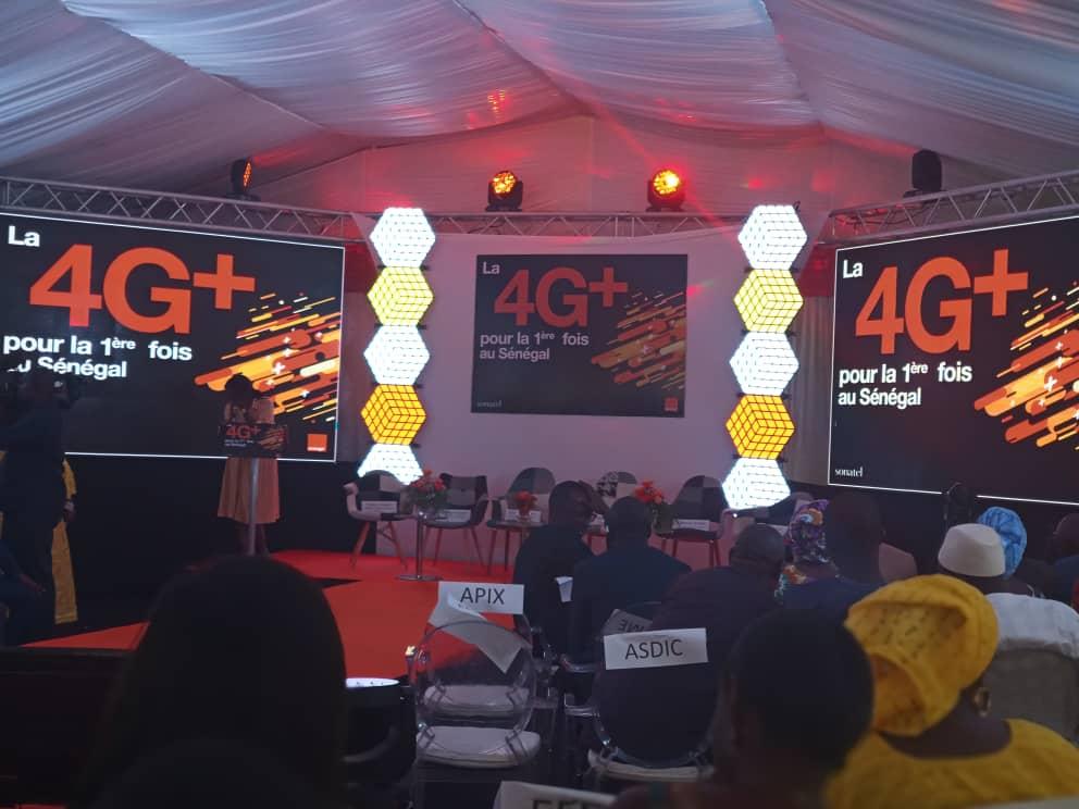 Vidéo – Orange lance pour la première fois la 4G+ au Sénégal