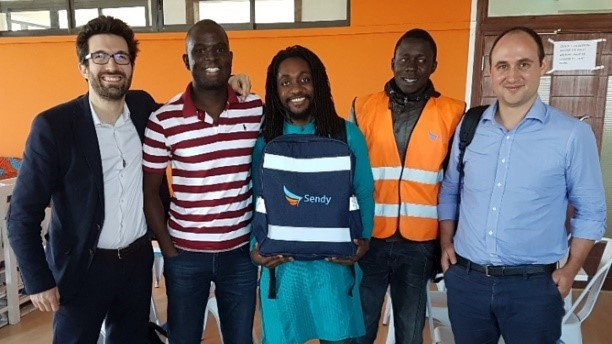 Bamako- L'application Teliman, un service de taxi-moto qui éclipse le transport en commun