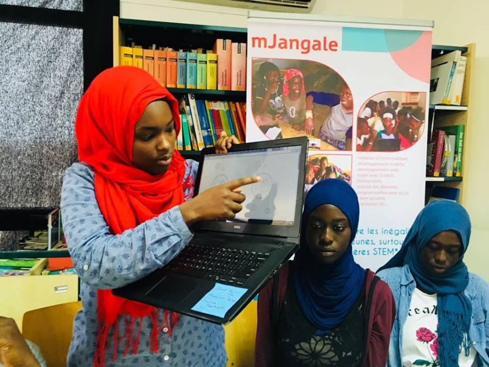 Informatique à l'école: mJangale veut développer la 1ère plateforme africaine de coding