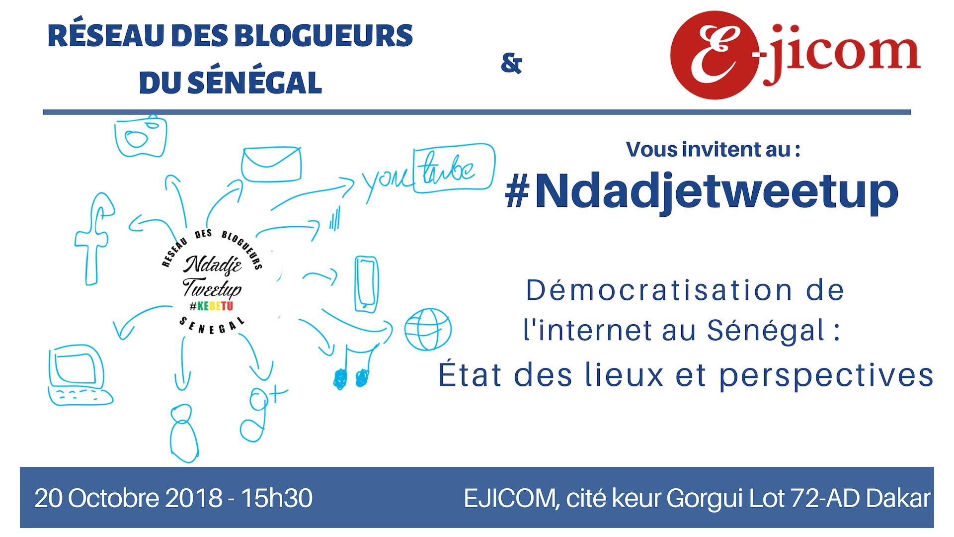 Le réseau des blogueurs se penche sur la Démocratisation de l'internet au Sénégal