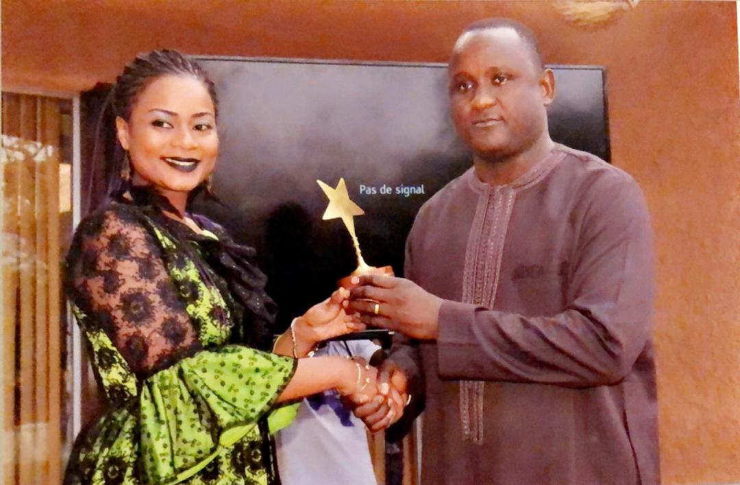 FESTIC AWARDS : Merry Beye Diouf primée pour son rôle dans le développement des TIC