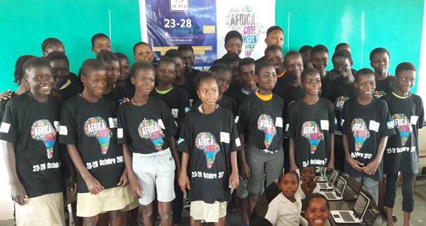 Africa Code Week, c'est 3000 jeunes filles formées au métier du Numérique