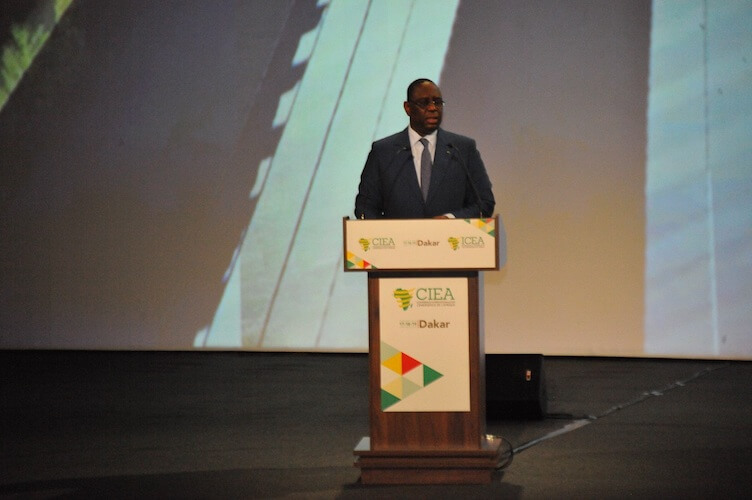CIEA 2019 : Macky Sall expose ses thèses sur l'émergence  du Continent