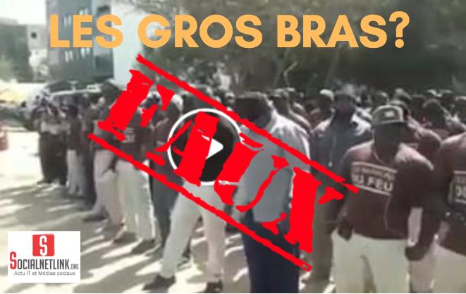 Fake News – Vidéo «Les Marrons du feu», «Gros bras» de Mame Mbaye NIANG: c'est de l'intox