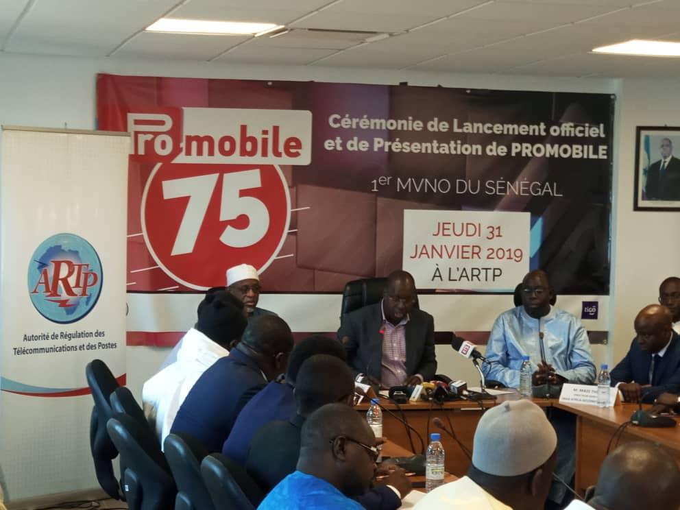 Sénégal : Promobile, le nouvel opérateur débarque sur le marché des télécoms  avec le numéro 75 !