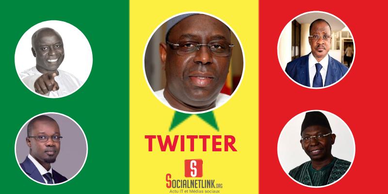 Twitter : la révélation de la présidentielle 2019 au Sénégal