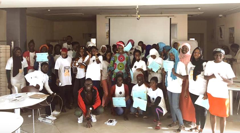 MJangale et Women In Africa forment 40 jeunes filles au développement mobile