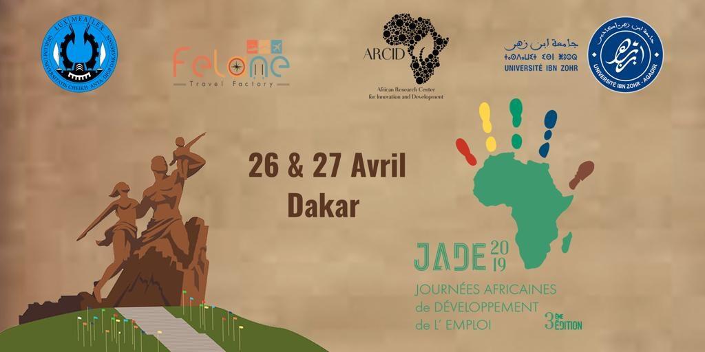 3e édition des JADE 2019 : Dakar capitale de l'emploi des jeunes