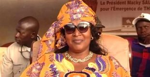Portrait de Ndèye Tické NDIAYE, ministre de l'économie numérique et des Télécoms