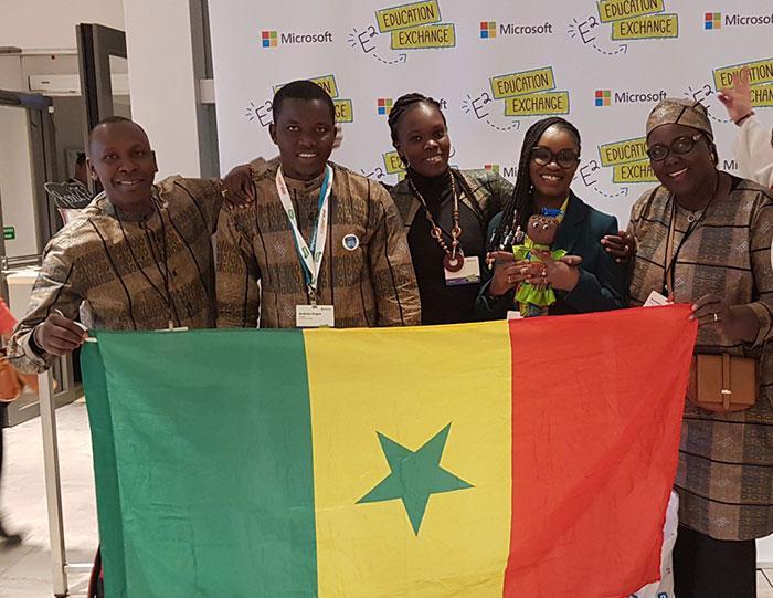 Innovation- Des enseignants sénégalais primés au Microsoft Education- Exchange à Paris