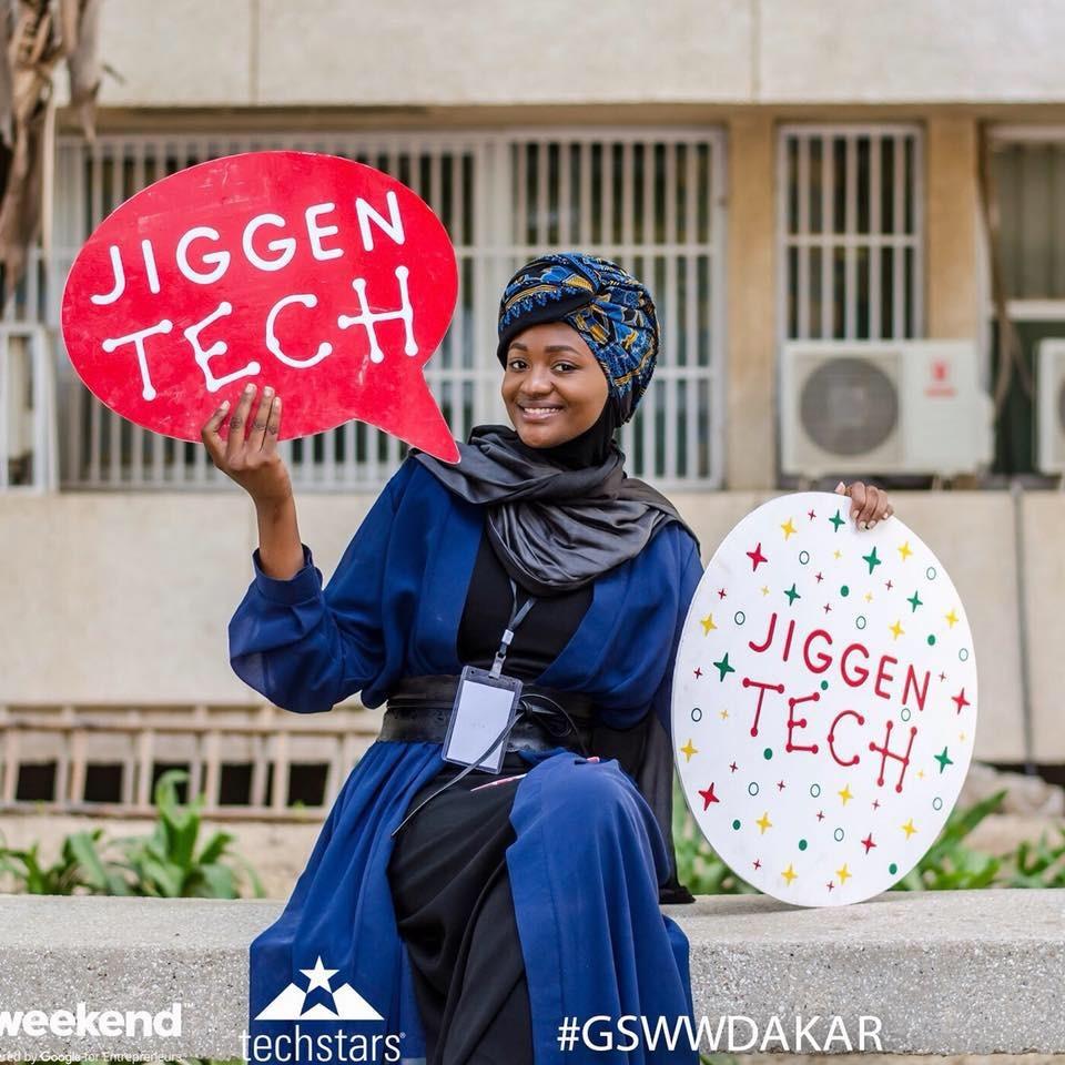 """Mame Aminata DIAMBO, fondatrice de """"Startup Sunday"""", une passionnée de design"""