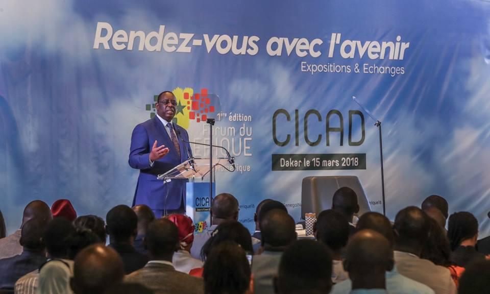Discours d'investiture: Macky Sall pour un soutien sans faille des jeunes start-ups sénégalaises