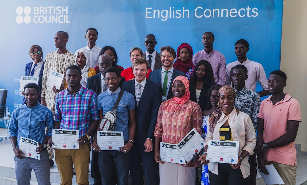 """Apprentissage de l'anglais : le British Council vise 7,5 millions de jeunes en Afrique à travers le programme """"English Connects"""""""
