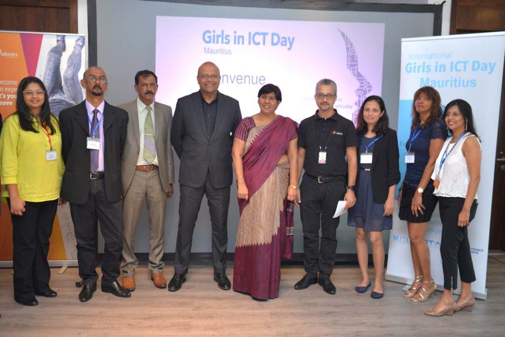 la journée internationale des filles dans les TIC île Maurice 2019