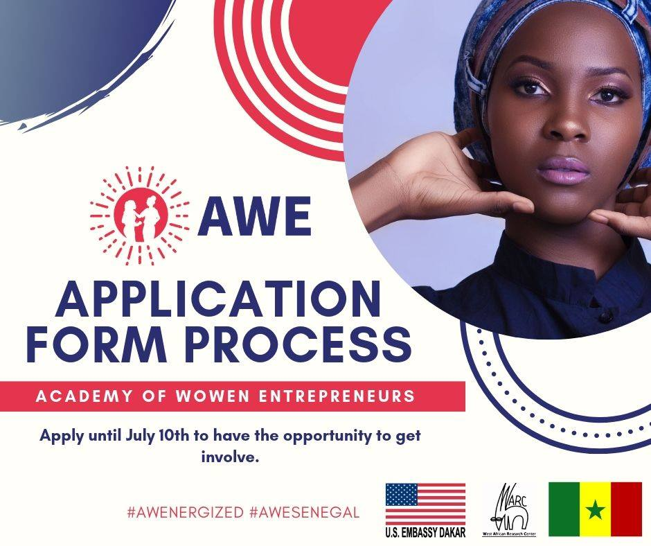 Appel à candidatures- Formation gratuite en entrepreneuriat par Academy of Wowen Entrepreneurs