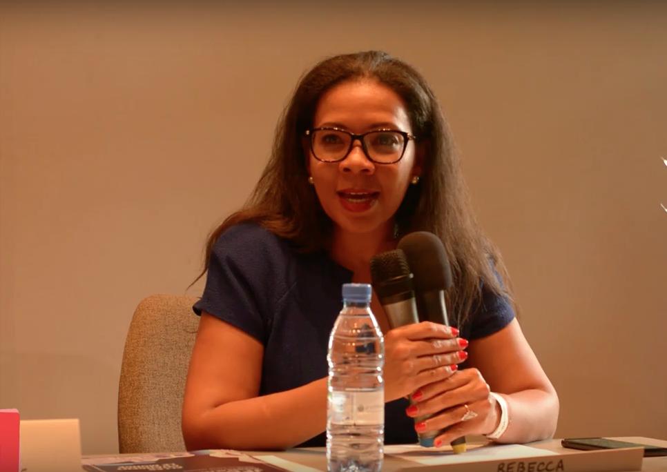 """Rebecca ENONCHONG: """"Beaucoup d'efforts notés dans le développement des réseaux de Business Angels en Afrique """""""