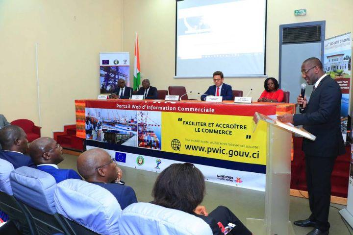 La Côte d'ivoire lance son Portail Web d'information Commerciale (PWIC)