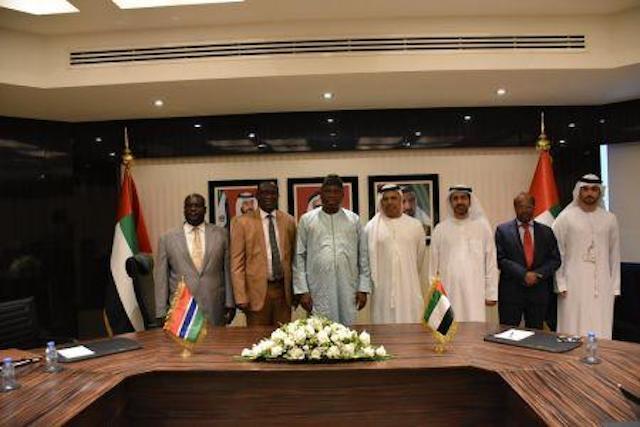Protection mutuelle d'investissements : la Gambie et les Emirats arabes unis signent un accord