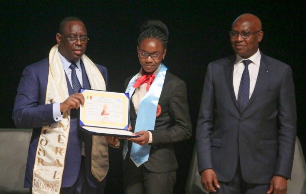 Concours Général – A la découverte de Diary Sow, la meilleure élève du Sénégal