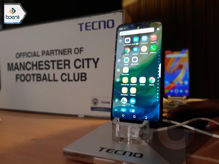 Le smartphone SPARK 3 de Tecno remporte le Prix Africa Information Technology  :