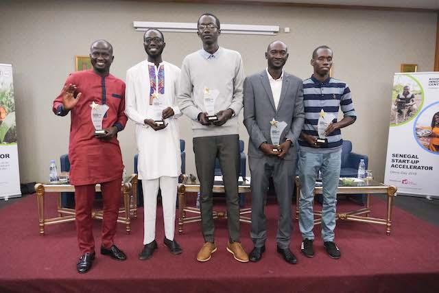 Sénégal Start-Up Accelerator : Cinq entrepreneurs lauréats reçoivent un financement de 10 000 $