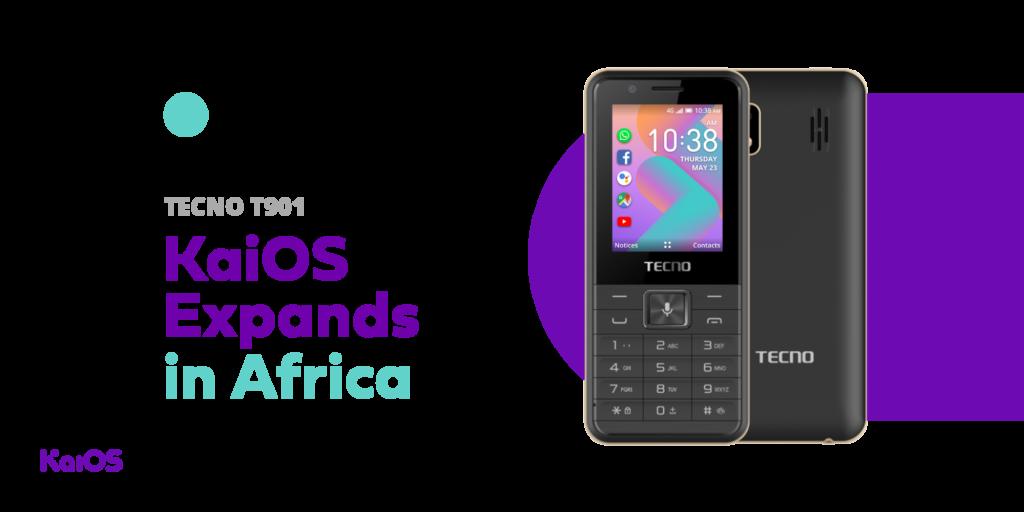 La marque de téléphone chinoise TECNO Mobile sort un modèle sous KaiOS à 25 $.