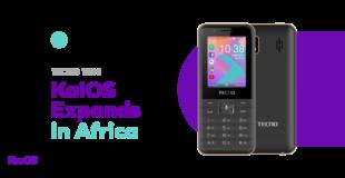KaiOS Tecno Mobile T901