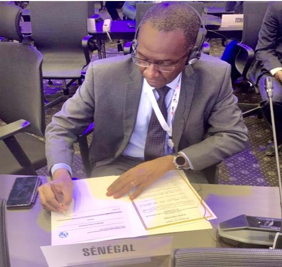 Egypte : Signatures des Actes finals de la Conférence Mondiale des Radiocommunications