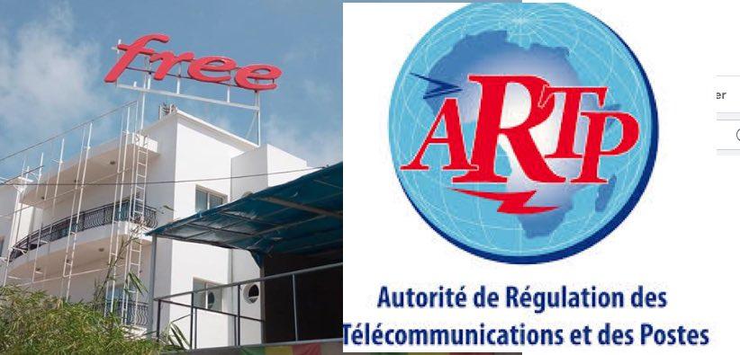 """L'ARTP exige le retrait immédiat de  toutes les """"offres"""" de Free ( document)"""