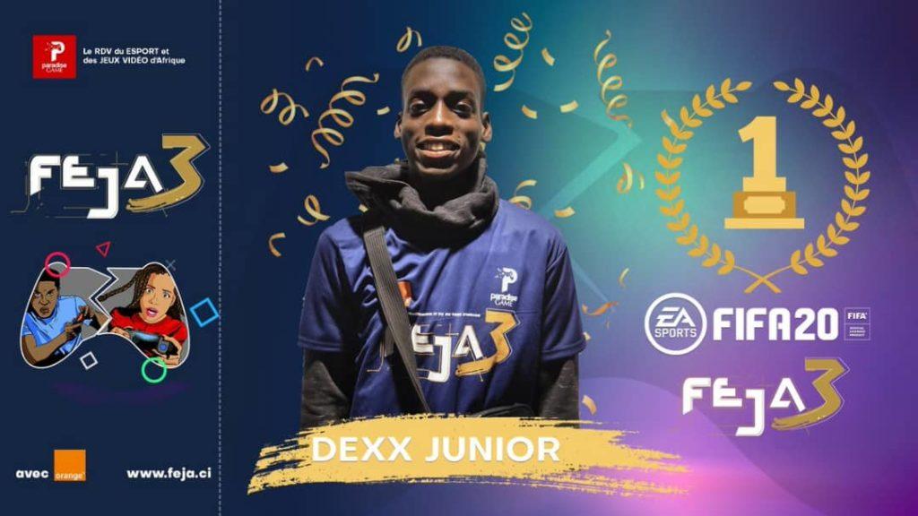 Esport sur Fifa 20 : le Sénégalais Mouhamed Thiam alias Dexx, sacré champion d'Afrique !