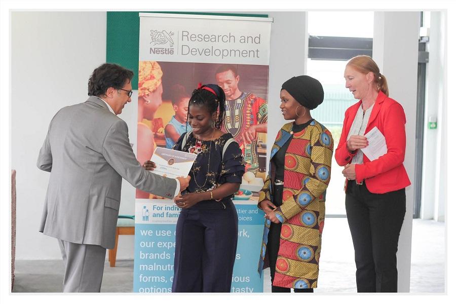 L'UGB remporte le 1er prix du Africa Innovation Challenge de Nestlé
